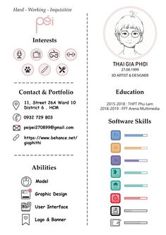 artist and designer resume / CV Graphic Design Resume, Cv Design, Resume Design Template, Creative Resume Templates, Curriculum Template, Cv Curriculum Vitae, Artist Cv, Artist Resume, Free Cv Template Word