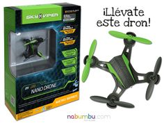 ¿Quieres llevarte este dron sin pagar ni un euro? ¡Participa en este concurso! https://www.facebook.com/nabumbu/photos/a.1582198138699567.1073741828.1542415476011167/1631426610443386/?type=3&theater