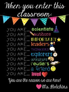 When You Enter This Classroom... Sign Digital File