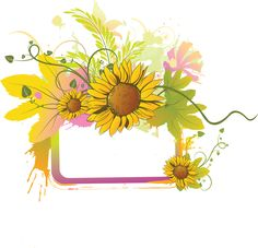Spice up Your Design with Free Summer Clip Art (Gallery 2): Blank Daisy Frame