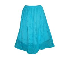 Mogul Womens Maxi Skirt Boho Blue Embroidered Long Skirts    https://www.walmart.com/search/?query=mogul%20interior%20SKIRT