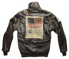 Bandiera Americana Giubbotto Top Gun
