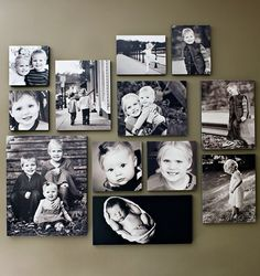 great collage. Photo Wall Decor, Room Wall Decor, Picture Groupings, Black Photo Frames, Photo Collage Maker, Tiny House Design, Hanging Pictures, Hallway Decorating, Home Photo