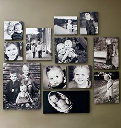 100 fotocollagen erstellen fotos auf leinwand selber machen fotosbeispiele pinterest - Fotoleinwand erstellen collage ...