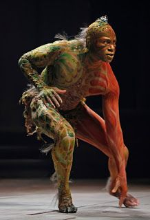 Dion Johnstone as Caliban in The Tempest. Stratford Festival.