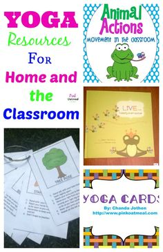 Kids Yoga Resources For Home and the Classroom - Pink Oatmeal