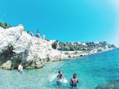 Coco Beach, Nice, France — by Csilla Braun. After the harbor continue straight until you find the cliffs and the hidden beaches. Mostly locals, awesome...