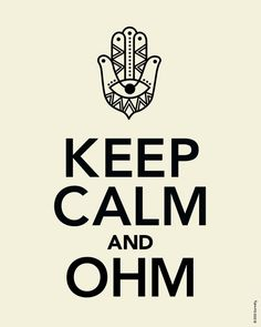 keep calm and  | Keep Calm and Ohm: Tips for Beating Stress | Dormify