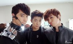 """[OFFICIAL] 2PM LIVE TOUR in SEOUL """"What Time Is It"""" The Grand Finale BACKSTAGE PHOTOS ©JYP Entertainment."""