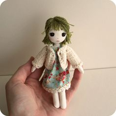tiny doll by Gingermelon, via Flickr