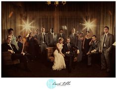 Mad Men Inspired Wedding Photoshoot. Must have!