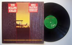 Mike Oldfield / LP The Killing Fields GR: 062-VG 50096 Green/Red label Promo