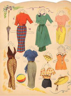 Billede i Martha Hyer 1958 Saalfield #4423 uncut - Google Fotos