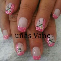 Uñas Pink Nail Art, Toe Nail Art, Pink Nails, Cute Spring Nails, Summer Nails, Nail Designs Spring, Nail Art Designs, Sassy Nails, Finger Nail Art