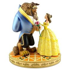 Disney Medium Figure Statue  Beauty and the Beast  Belle  the Beast by Disney ** For more information, visit image link. Note: It's an affiliate link to Amazon.