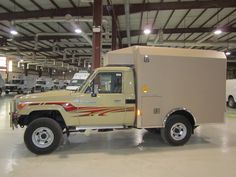 Inside factory Rescue Vehicles, Ambulance, Toyota Land Cruiser, Recreational Vehicles, Clinic, Automobile, Engineering, Military, Cabinet