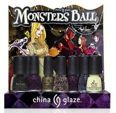 Phoenix Beauty Lounge Store - China Glaze Monsters Ball Halloween 2013 Collection, $6.50 (http://phoenixbeautylounge.com/china-glaze-monsters-ball-halloween-2013-collection/)