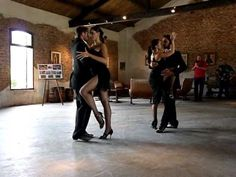 Uruguayan Tango with Two Couples