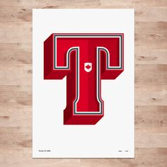 Toronto FC posters - Limited Edition Typography Wall Art Print by DINKIT on Etsy