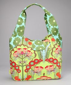 Take a look at this Fuchsia Tree Tomato Honeysuckle Organic Tote by Amy Butler on #zulily today!