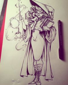 From sweeney_boo Instagram Miss Teapot #sketchs #sketching #inking #sweeneyboo…
