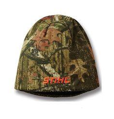 Cap w Glitter Orange Logo Stihl Women/'s Heather Grey Jersey Knit Fabric Hat