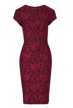 Bonded Floral Lace Dress, perfect for special occasions this autumn. Long Tall Sally, your number one fashion retailer for tall women's clothing #tallfashion #tallwomen #tallgirl
