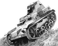 AMR 33 prototype light tank (vehicle number 79756), 1933, photo 1 of 2