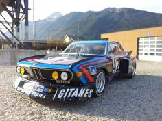 BMW Gitannes | Diecast BMW 3.5 CSL 'BMW Motorsport GmbH/Gitanes' modelcar, Minichamps ...