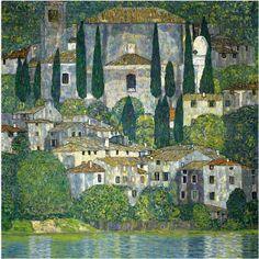 Church in Cassone (1913) / Klimt