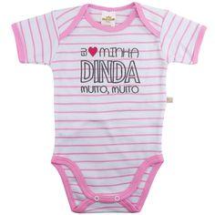 Desenvolvido em um lindo design e com tecido super macio e confortável, o Body Suedine Frase Dinda Rosa - Best Club é ideal para deixar seu bebê com mais estilo e conforto no dia a dia ou nos momentos de passeios e diversão.