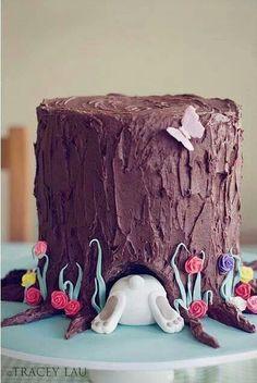 Easter bu'mm'y cake! ;)