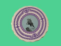 St. Petersburg RUSSIA Souvenir Plate Catherine the Great on