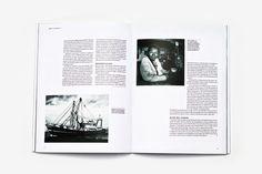 Tænk Magazine by Nicki van Roon, via Behance