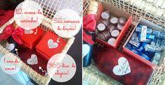 DIY: Presente de aniversário de 1 ano de namoro     Namorada Criativa