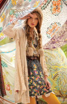 Edgy Boho Chic Style by fashionstylehunter