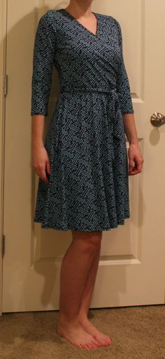 I Love this dress!  I feel like this shape is very flattering on me...  Stitch Fix March