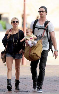 Chris Hemsworth with Elsa Pataky 2013