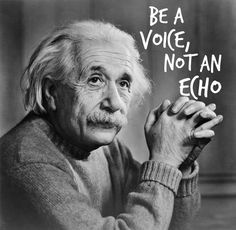 be a voice not an echo - Google Search
