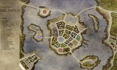 River City Map!  http://www.reddit.com/r/DnD/comments/3bic0f/river_city_map/?