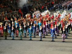 Close up of the #Highland #Dancers, recognise any of them? At the 2014 Royal Edinburgh Military Tattoo.