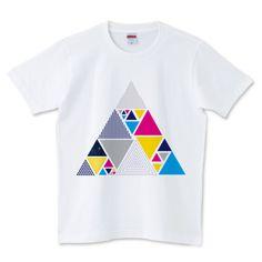 Secret triangle | デザインTシャツ通販 T-SHIRTS TRINITY(Tシャツトリニティ) by Vividsrock