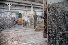 Atelier Anselm Kiefer - Croissy . 2014