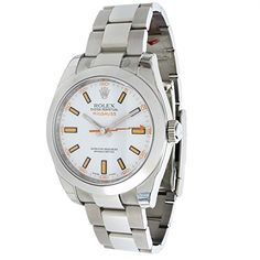 Rolex Milgauss 116400 Mens Watch in Stainless Steel (Certified Pre-Owned) >>> This is an Amazon Associate's Pin. Detailed information can be found on Amazon website by clicking the VISIT button Louis Vuitton Watches, Rolex Watches For Men, Certified Pre Owned, Rolex Oyster Perpetual, Automatic Watch, Omega Watch, Amazon Website, Stainless Steel