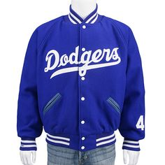 Brooklyn Dodgers Authentic 1956 Wool Jacket by Mitchell & Ness  - MLB.com Shop