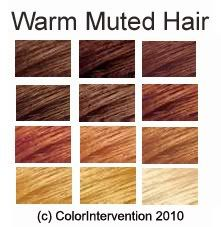 expressing your truth blog: warm muted hair is Autumn