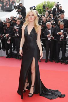 Georgia May Jagger at the 2018 Cannes Film Festival Uk Fashion, Fashion History, Couture Fashion, Georgia May Jagger, Celebrity Dresses, Celebrity Style, Palais Des Festivals, Red Carpet Looks, Red Carpet Dresses
