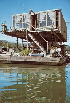 Browse House Boat boats for sale Cabana, Houseboat Living, Water House, Boat House, Floating House, Floating Shelves, Water Crafts, Rustic Design, Life Hacks