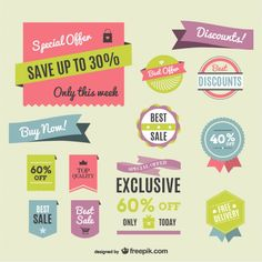 More free advertising or sale graphics from #freepik #freebies