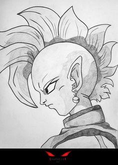 Supreme Kai - DBZ - Desen în Creion de Cristian Roman // Supreme Kai - DBZ - Pencil Drawing by Cristian Roman